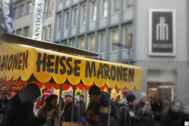Heiße Maronen