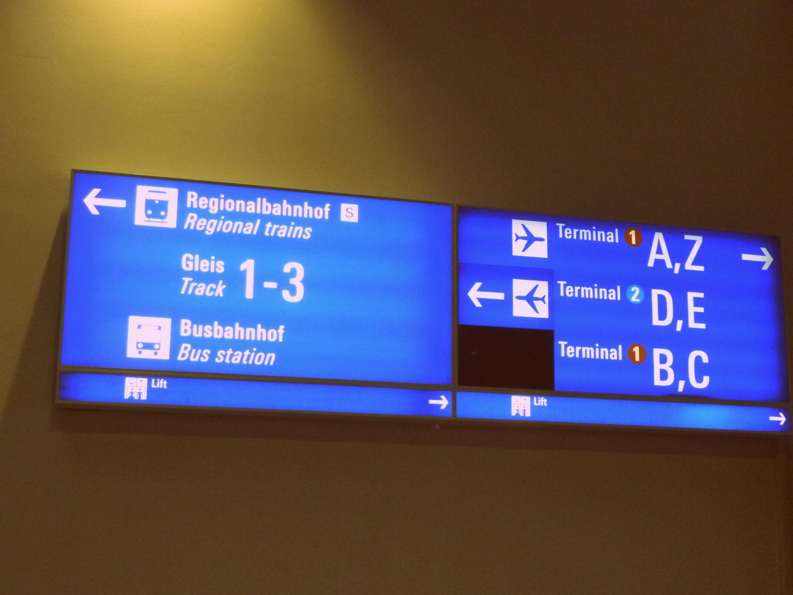 Deutschland Deine Bahnh 246 Fe Frankfurt Flughafen