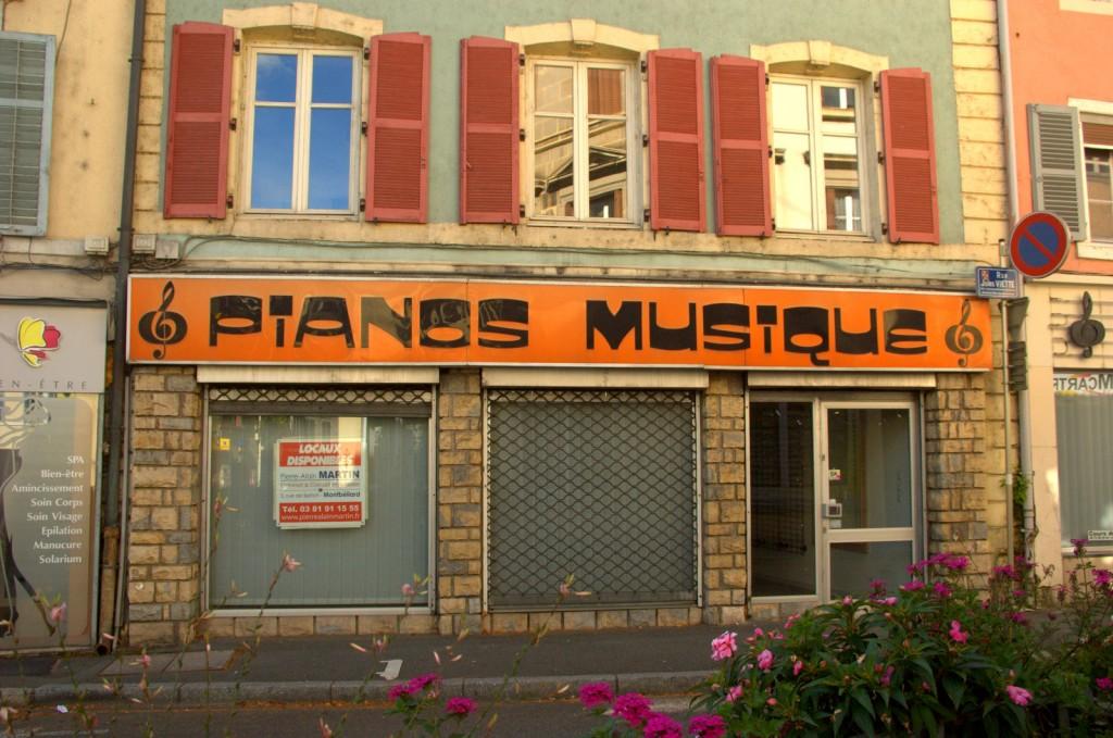 Pianos Musique