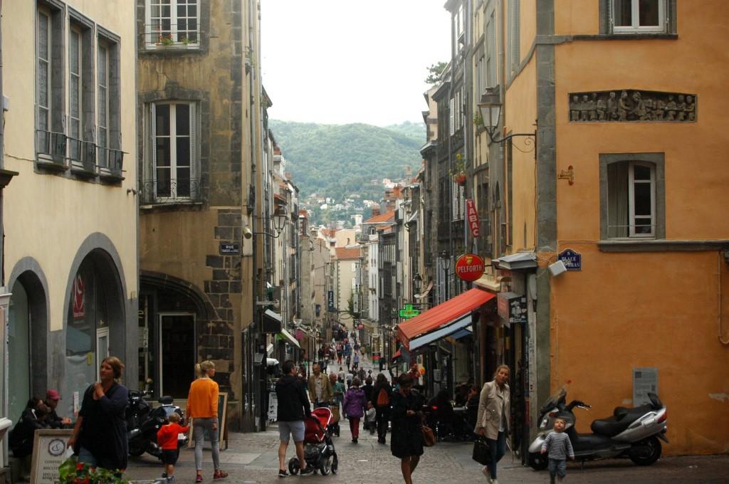 Altstadt und Berge