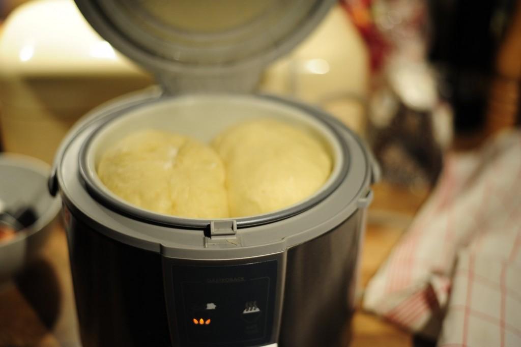 Germknödel aus dem Reiskocher
